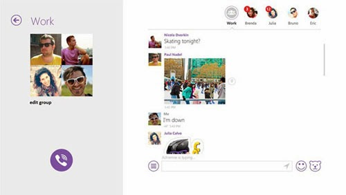 Viber for Windows 8.1