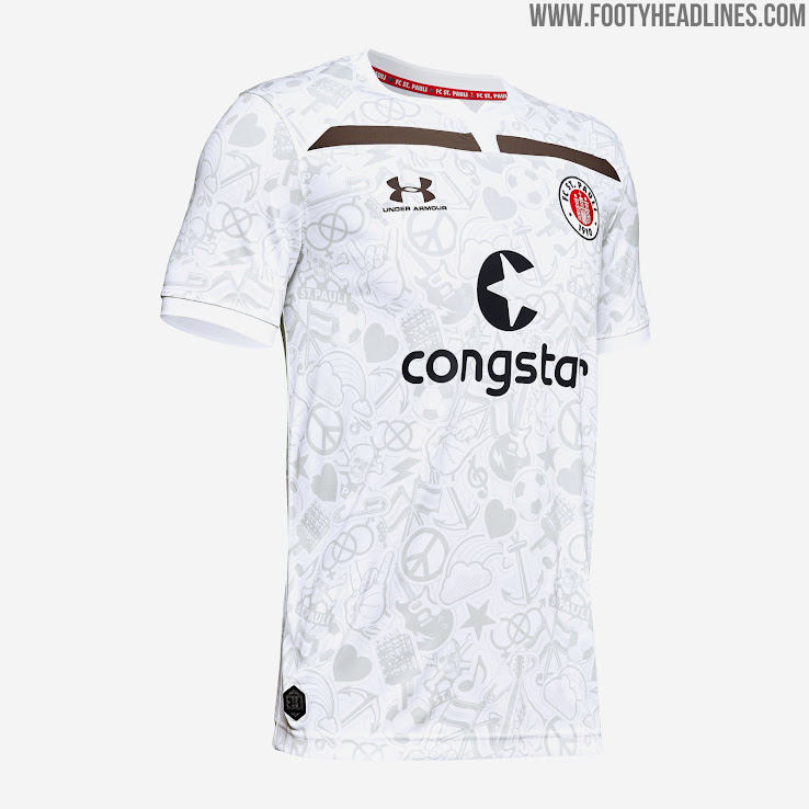 newest 4e2cb ca1c1 St. Pauli 19-20 Home, Away & Third Kits Revealed - Footy ...