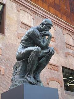 EL PENSADOR de Auguste Rodín