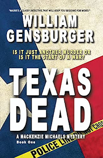 TEXAS DEAD - mystery/thriller by William Gensburger - book promotion sites