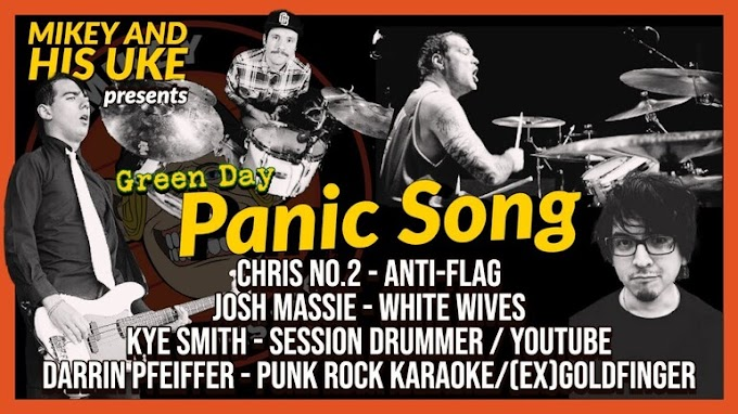 "Anti-Flag, Goldfinger, White Wives members cover Green Day's ""Panic Song"""