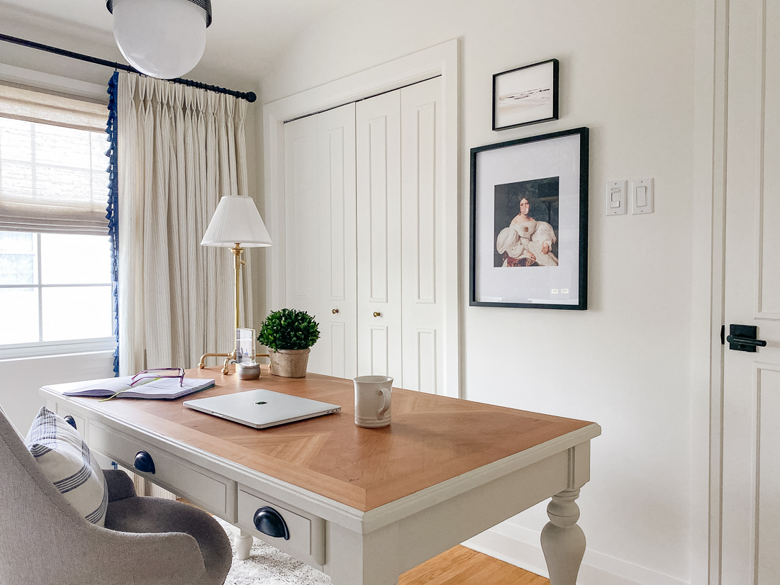 classic home office, traditional home office