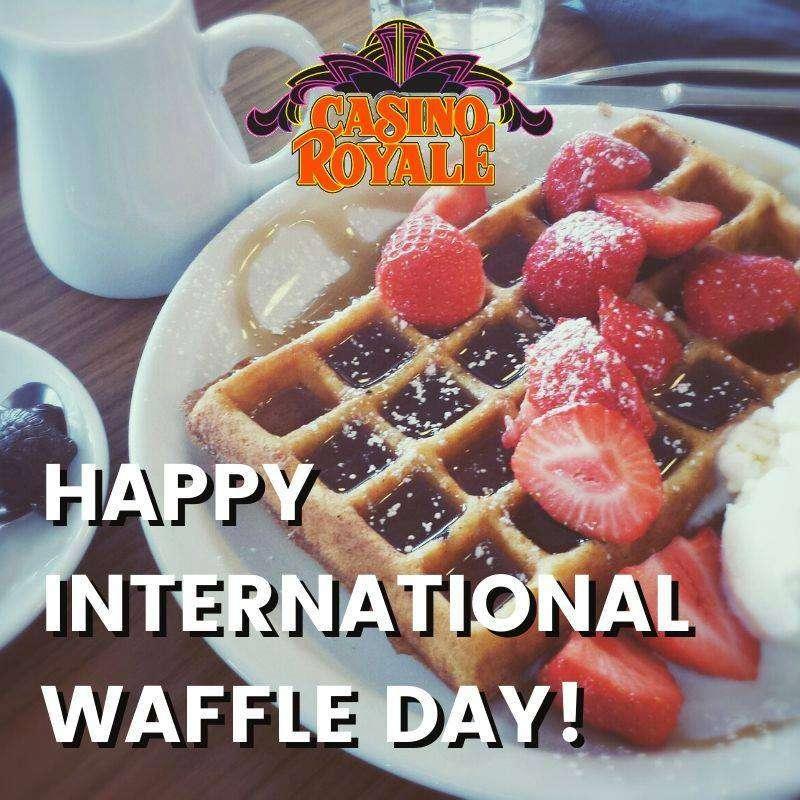 International Waffle Day Wishes Photos