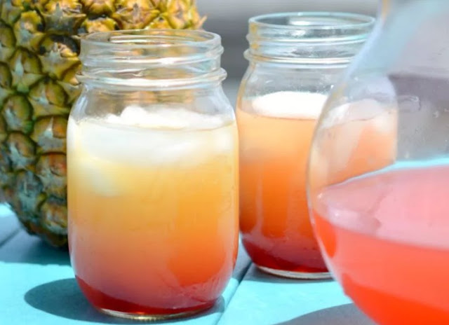 Coconut Rum Punch #drinks #cocktails
