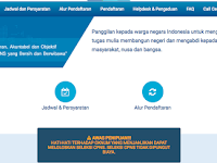 Cara Pendaftaran Online CPNS SSCN.BKN.go.id 2018/2019
