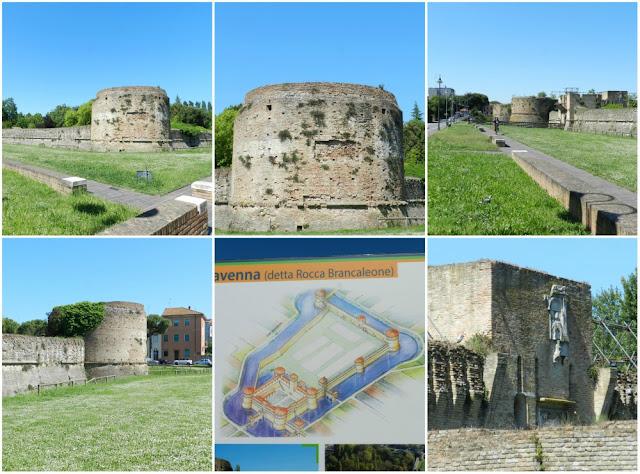 O que ver em Ravenna (Itália) além dos mosaicos? Rocca (Fortaleza) Brancaleone