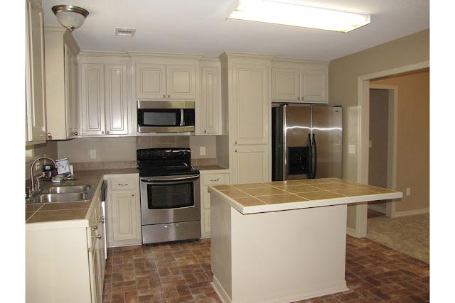 ตกแต่งห้องครัวแบบบ้านชั้นเดียว
