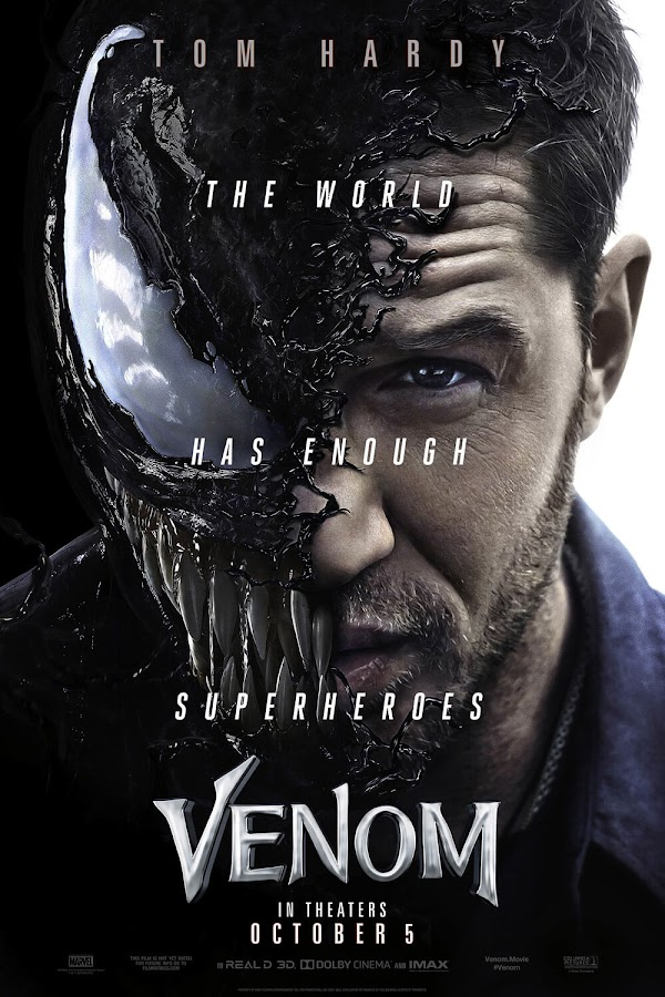 venom movie 2018 poster