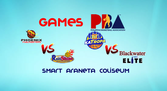 List of PBA Games: January 17 at Smart Araneta Coliseum 2017-2018 PBA Philippine Cup