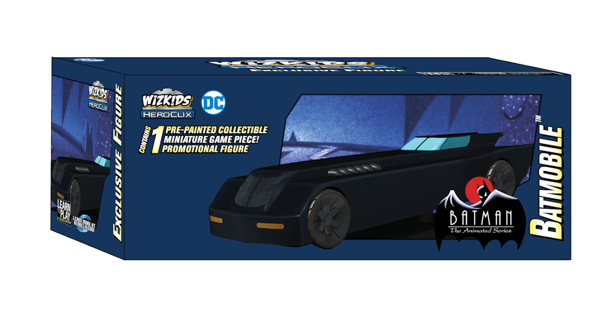 The Blot Says...: SDCC 2019 Exclusive DC Comics HeroClix
