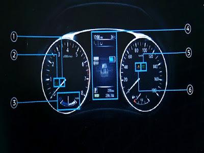 Gambar Vehicle Information Display Nissan X-Trail