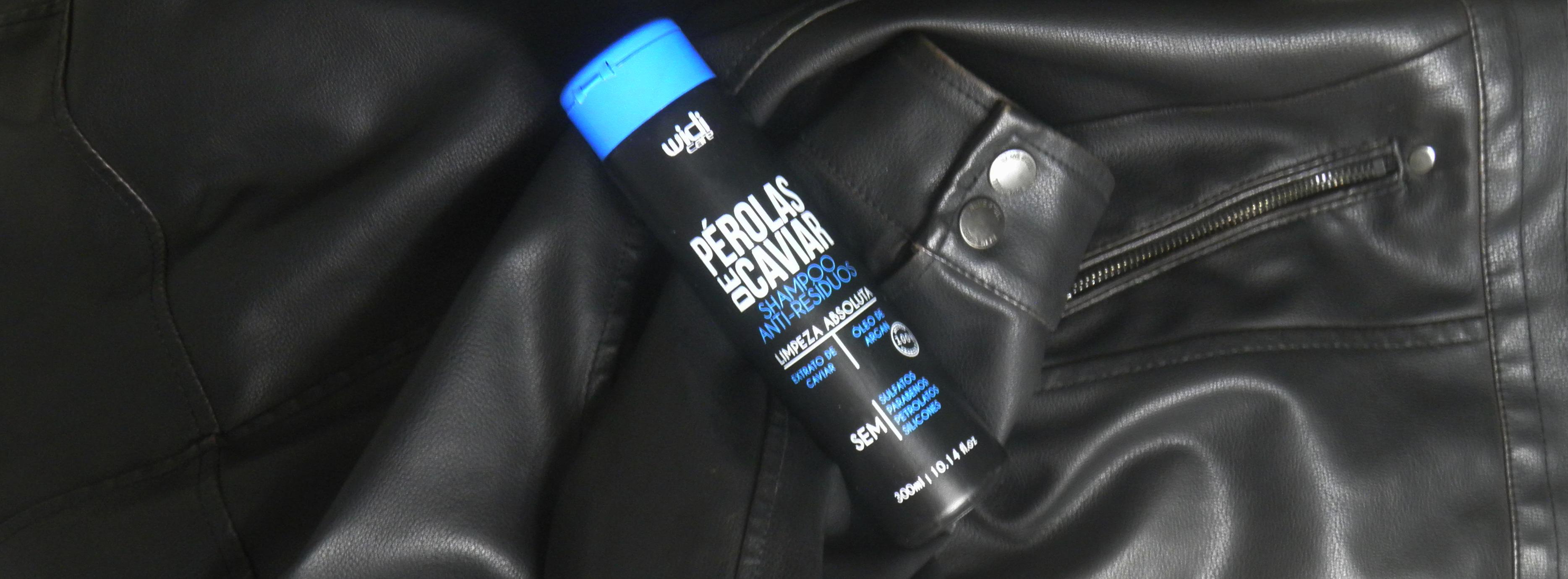 Resenha Shampoo Antirresíduos Low Poo Pérolas de Caviar Widi Care