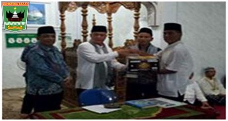 Wagub Nasrul Abit :Safari Ramadhan Merupakan Kegiatan Silaturrahmi Pemerintah Provinsi, Kabupaten/Kota