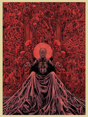 Hellraiser Screen Prints by Godmachine x Mad Duck Posters