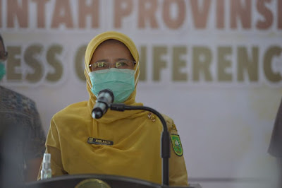 Kadiskes Riau Kembali Ingatkan Masyarakat Jangan Abai Patuhi Prokes