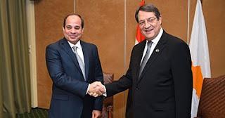 وصول الرئيس السيسي نيقوسيا للمشاركة بالقمة الثلاثية بين مصر وقبرص واليونان