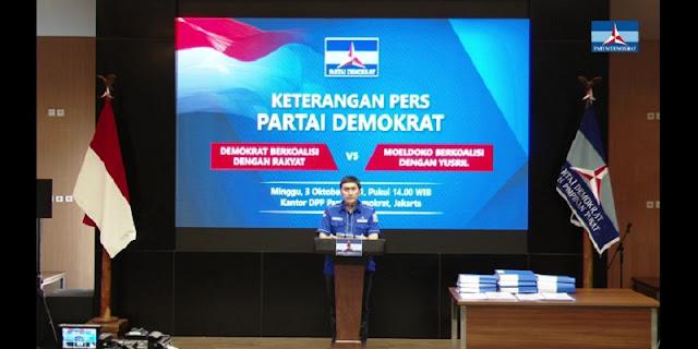 Demokrat: Rakyat Tidak akan Rela Kubu Moeldoko Gunakan Rudin TNI AD untuk Rapat Siasat Jahat