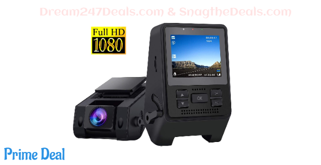 Dash Camera for Cars Super Night Vision 50%OFF