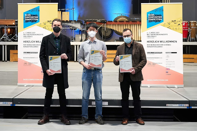 Winners of the third Basel Composition Competition