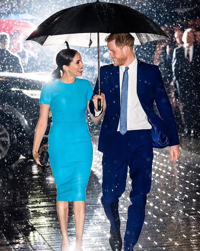 The Duke And Duchess Of Sussex Prince Harry And Meghan Markle, Attend The Annual Endeavour Fund Award 2020