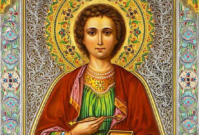 Благодатная молитва о здоровье Пантелеймону Целителю