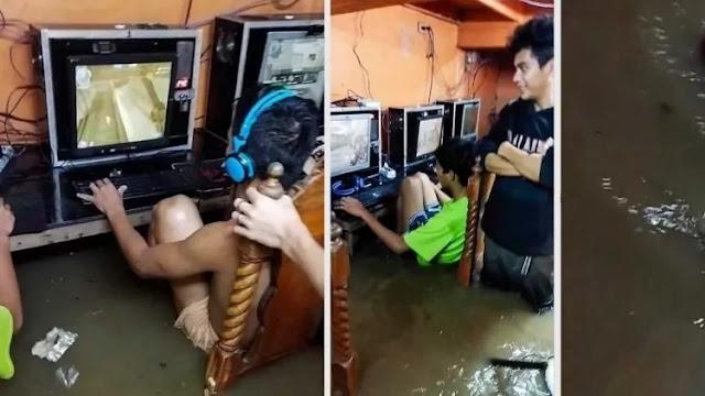 main game saat banjir