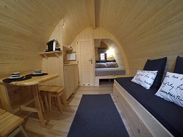 Case in legno - Case prefabbricate interni ...