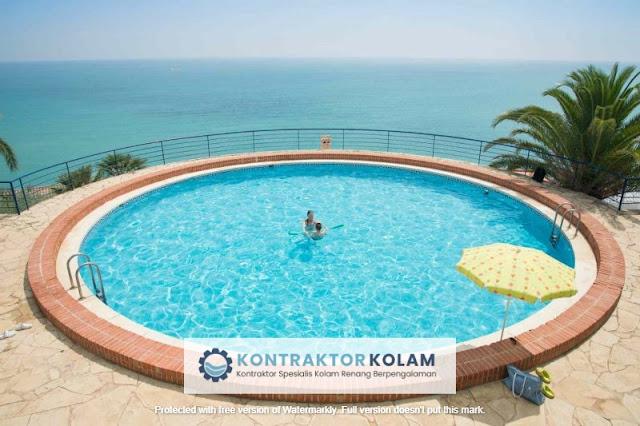 desain kolam renang pool Pangkalpinang