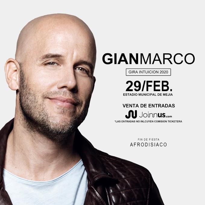 Gian Marco en Arequipa, Mejía - Venta de entradas - 29 de febrero