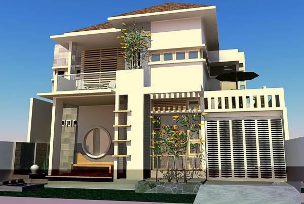 Contoh rumah minimalis type 70 modern