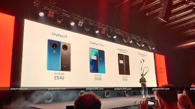 هاتفين One plus 7t Pro و  7t Pro maclaren Edition