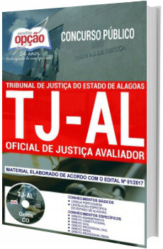 Apostila Concurso TJ-AL 2018 Oficial de Justiça Avaliador