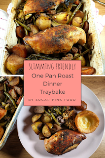 roast dinner traybake recipe