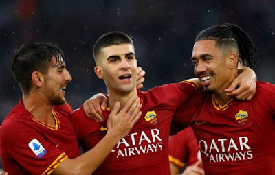 Video Cuplikan Gol: AS Roma 3-0 Brescia (Serie A)