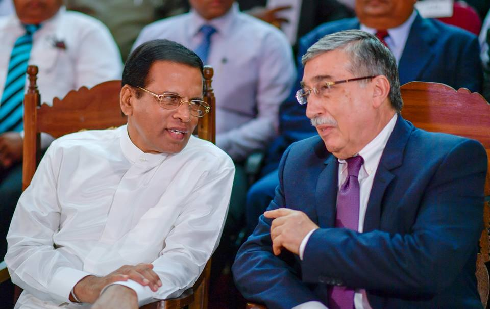 "President Maithripala Sirisena Handed Over ""Kastane"" To National Museum 5"
