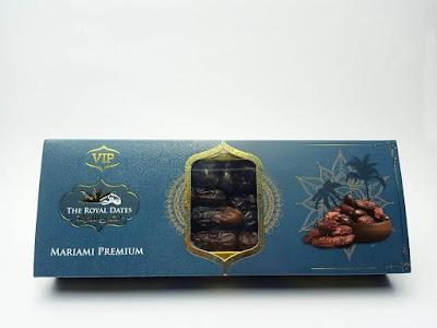 Design Kotak Kurma Mariami Premium yang Eksklusif Sangat Sesuai Untuk Dijadikan sebagai Cenderahati