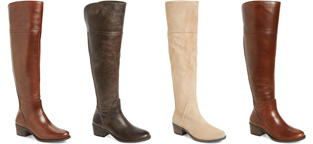 Vince Camuto Bendra Over the Knee Split Shaft Boots $99 (reg $198)