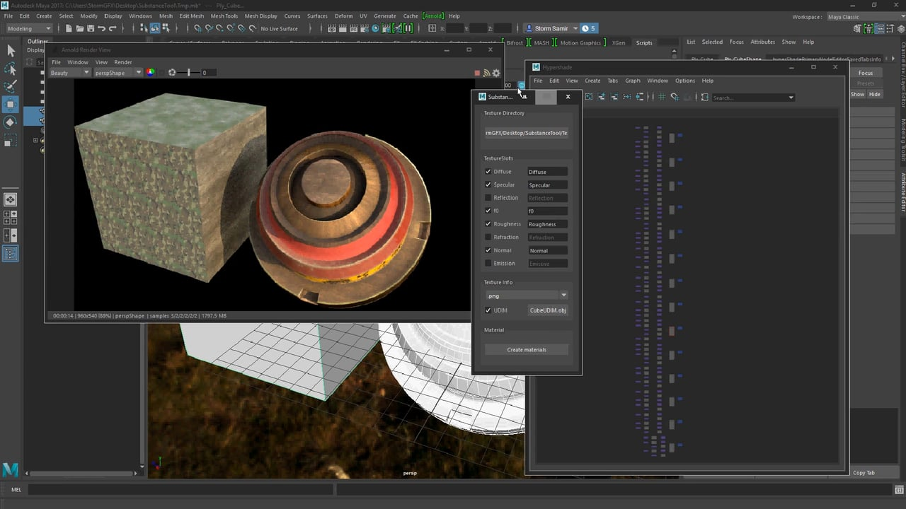 Substance Painter to Arnold for Maya Script - Plugins Reviews and