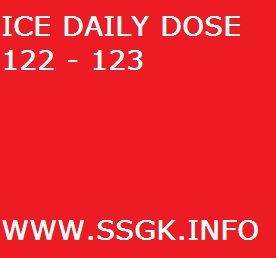 ICE DAILY DOSE 122 - 123
