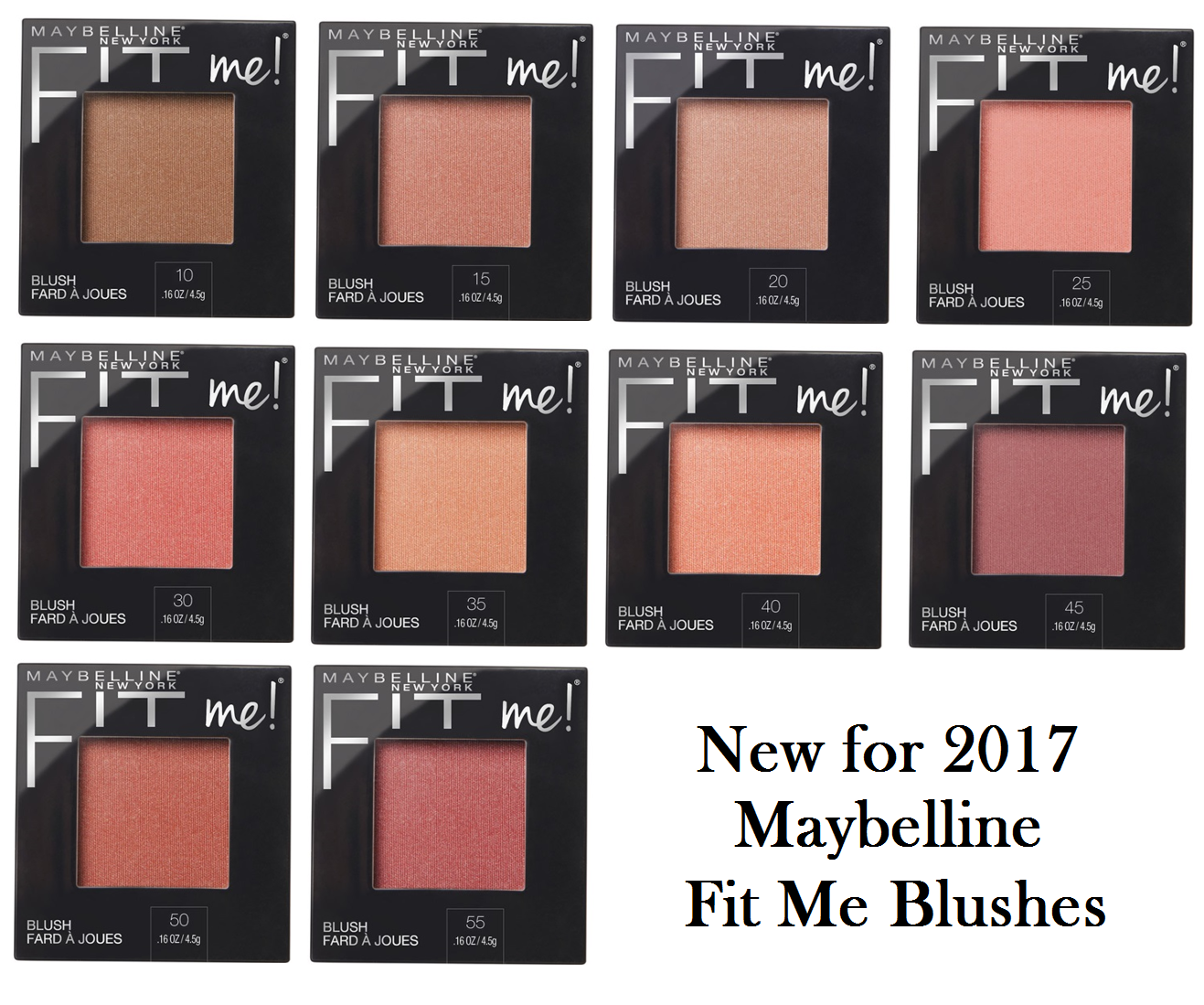 Maybelline fit me blush 2017