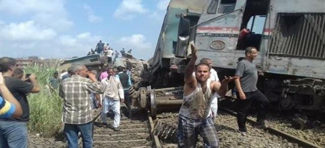 حادثة قطار رهيبة