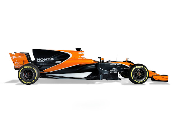 McLaren Honda F1 2017 orange