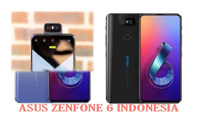 Bocoran Spesifikasi dan Harga Asus Zenfone 6 2019