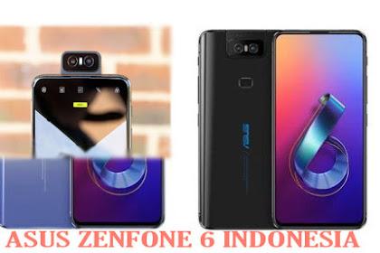 Spesifikasi dan Harga Asus Zenfone 6 2019