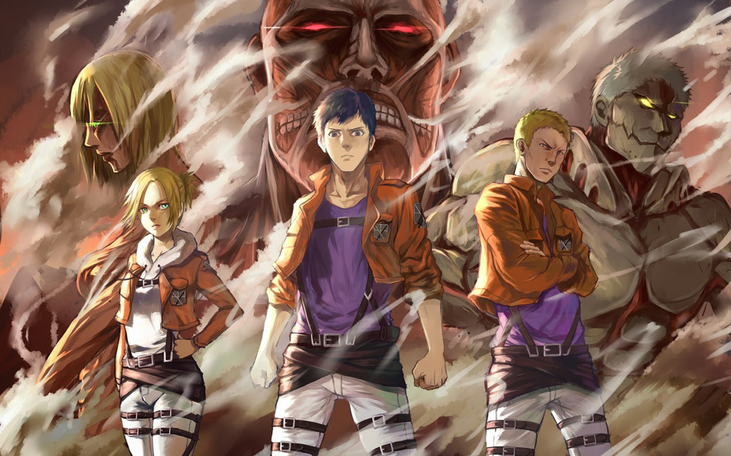 The gallery for --> Colossal Titan Attack On Titan Identity
