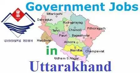 Government Jobs Uttarakhand Sarkari Naukri