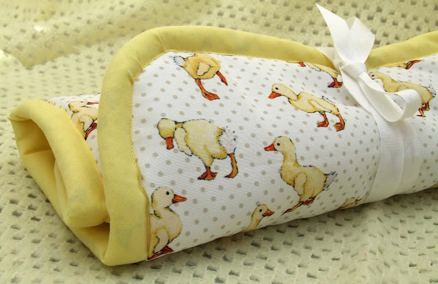 Duckling fabric nappy mat