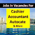 Accountant & Cashier Jobs In Dubai |+ Many other Vacacnies Also | Jobs IN Dubai |