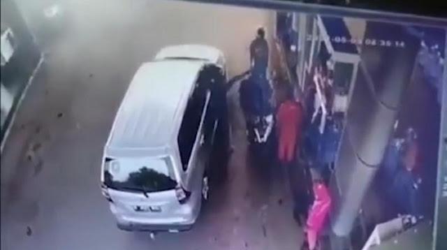 Viral Video Diduga Oknum Polisi Ancam Tembak Warga di Lebak