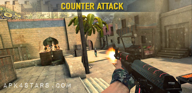 تحميل لعبة Counter Attack 3D مهكرة للأندرويد
